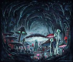 Dark Frontier - Into the Fungal Jungle by SpiralMagus.deviantart.com on…