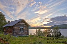 Utsjoki church cottages at summer in Utsjoki, Finnish Lapland. Photo by Terhi Tuovinen. Filming Locations, Arctic, Finland, Wilderness, Vacation, House Styles, Places, Summer, Barns