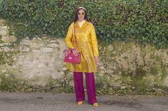 Amabili contrasti: il giallo e il viola, tendenza di questa primavera