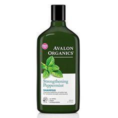 Avalon Organics Peppermint Strengthening Shampoo 325ml * undefined #DailyShampoo