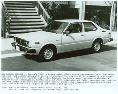 1979 Toyota Corolla ...probably our most dependable, durable car ever.