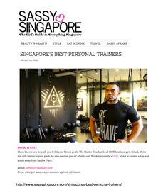Ritual Coach Shrek in Sassy Singapore