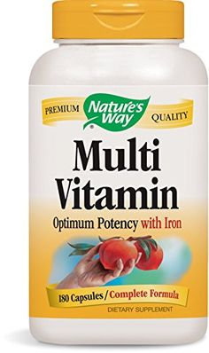 Natures Way Multivitamin 180 Capsules >>> To view further for this item, visit the image link. Note: It's an affiliate link to Amazon.