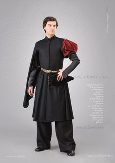 """Samoseli Pirveli"" - Georgian National Costume. Noble City Dwellers Robe - Collection 2011."