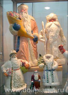 советский дед мороз игрушка