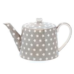Classic grey with a touch of fun little white stars.