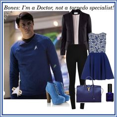 Designer Clothes, Shoes & Bags for Women Movie Outfits, Funky Outfits, Hermes Birkin, Disney Movies, Star Trek, Bones, Nerdy, Fashion Inspiration, Fandom