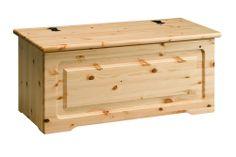 Cassapanca rustica in legno massiccio di Svezia. www.arredamentirustici.it