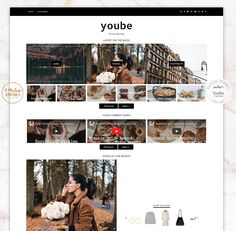 YouBE THEME - Blogger Template Responsive Design Custom Blogger Design Responsive Blogger Template Blogger theme blogspot Template #etsy #etsyshop #themes #templates #youtube #fashiontrends  #pinterest #fashionblogger #fashion #fashionblog #outfits  #etsyseller #etsyfinds #etsygifts  #blogger #blogspot #lookbook