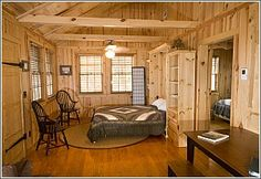 One Bedroom Cabin At Edisto Beach State Park Seven Cabins Are Completely Furnished