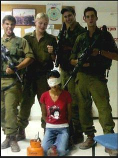 Thi is the fact that israel is the real terrorist. these guys are Zionist bastard pigs !stop the war!