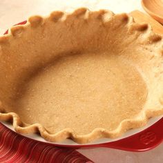 A quick, and healthy, crust for all of your pies -  no matter the occasion.  This whole-grain crust will add texture and color to your favorite pies without losing the taste you love.