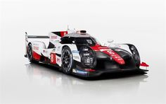 Toyota TS050 Hybrid, 2017, Racing prototype, Japanese cars, Le Mans, Official, Toyota