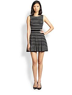 "Alice + Olivia - Monah Pinstripe Sweater Dress..a summer ""must"""