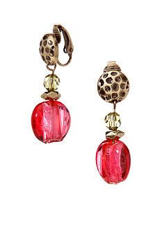 Ruby Rd Global Nomad Collection Clip Earrings