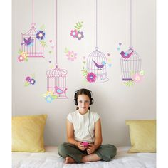 Found it at Wayfair - Jacob Chirping The Day Away Wall Decal