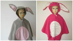 karneval fasching halloween kostüm cape umhang für kleinkinder fleece hase