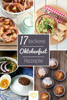 Mit diesen leckeren Blogger-Rezepten könnt ihr das Oktoberfest nicht nur zu euch nach Hause holen sondern direkt noch um ein paar Tage - oder auch mehr - verlängern! ;)