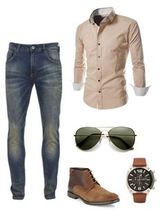 """""""Hello Spring"""" by carolinasilva-2 ❤ liked on Polyvore featuring Scotch & Soda, BLACK BROWN 1826, Diesel, men's fashion and menswear"""