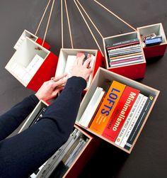 modular shelf by BeaMalevich (discovered on designsponge)