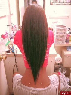Fryzury Proste włosy: Fryzury Długie Na co dzień Proste - CzEkOlAdKa2010 - 2118679