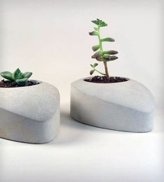 Concrete Drop - Set of 2 | Home Decor | Roughfusion | Scoutmob Shoppe | Product Detail