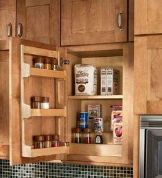Storage Solutions Details - Spice Rack Kit - KraftMaid