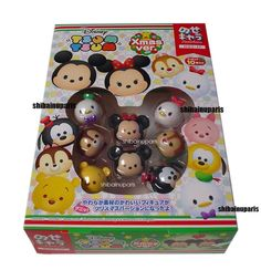 New Disney Tsum Tsum Xmas Toy Soft Mini figure Set of 10 Japan Ensky Christmas in Collectibles, Animation Art & Characters, Animation Characters | eBay