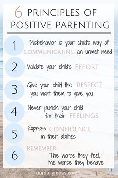 The Beginners Guide to Positive Parenting - Our Daily Mess