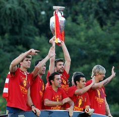 La Roja celebra su triunfo en las calles | Fotogalería | Deportes | EL PAÍS