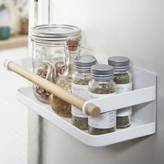 Found it at Wayfair - Tosca Magnetic Spice Rack