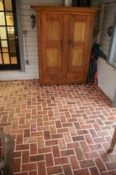(Notitle)(Notitle)Entryways and hallways - Inglenook Brick Tiles - thin brick flooring, brick pave .Entryways and hallways - Inglenook Brick Tiles - thin brick flooring, brick pavers, ceramic brick tiles, brick floors. - Entryways and hallways Red Brick Tiles, Red Brick Pavers, Brick Tile Floor, Porch Flooring, Brick Flooring, Diy Flooring, Entryway Flooring, Flooring Ideas, Floor Molding