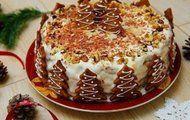 Божественный торт на новый Год Собаки