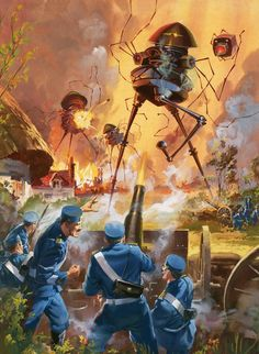 Barry Linklater - War of the Worlds