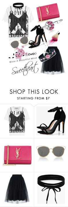 """Cool Style--Sweetheart"" by totwoo ❤ liked on Polyvore featuring McQ by Alexander McQueen, Boohoo, Yves Saint Laurent and Christian Dior"