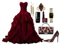 """Perfect Red Glamour 2015"" by diamondanna ❤ liked on Polyvore featuring Topshop, Panacea, Valentino, NYX, Chanel, Kevin Jewelers, women's clothing, women, female and woman"