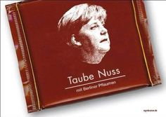 Merkel, Taube Nuss