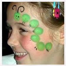 Resultat d'imatges de maquillaje infantil facil y rapido