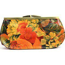 Patricia Nash Multicolor Foggia Frame Wallet