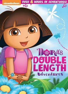 "#Giveaway: Win the DVD ""Dora the Explorer: Dora's Double Length Adventures"" (Ends 9/7)"