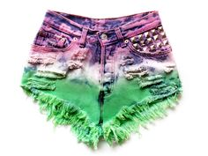 Visit my shop for more studded shorts: https://www.etsy.com/shop/UnicornStudded