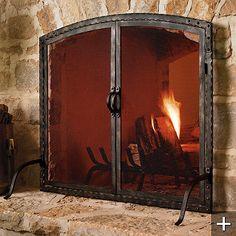 26 best iron fireplace screens images fire places custom rh pinterest com