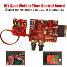 DIY Time Control Board for Spot Welder Updating Current Controller with Digital Display Battery Spot Welder Machine . Spot Welder, Tool Store, Welding Equipment, Diy Cnc, Arduino, Boards, Display, Electronics, Digital