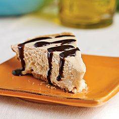 Peanut Butter Pie - Our Best Healthy Pie Recipes - Cooking Light Mobile Healthy Pie Recipes, Cream Pie Recipes, Best Dessert Recipes, Cooking Recipes, Cooking Tips, Snack Recipes, Köstliche Desserts, Delicious Desserts, Yummy Food