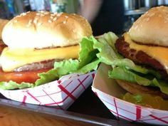 Cheeseburgers will put a smile one anyone's face!