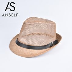 f37ae3c29e Anself Fashion Unisex Sun Straw Hat Solid Hollow Out Metal Belt Summer Hats  For Women Sunbonnet Trilby Fedora Beach Panama Hat [orc32819699226] -  $23.20 : ...