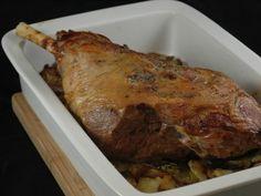 Cosciotto d agnello al forno con patate