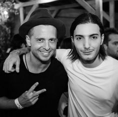 Apr 2015: Me & @Alesso backstage at @Coachella .   Best night