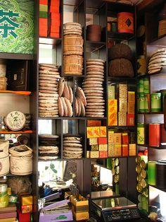 tea shop - china. I love tea shops!..I drink many types of tea!