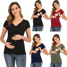 Buy Maternity Tops Women's Comfy Short Sleeve Nursing Tunic Top for Breastfeeding T-Shirt Pregnant Pregnancy Womens Clothing Mom at www.babyliscious.com! Free shipping to 185 countries. 21 days money back guarantee. Nursing Tunic, Nursing Tops, Maternity Shorts, Maternity Clothing, Comfy Shorts, Baby Gown, T Shirts For Women, Clothes For Women, Colorful Shirts